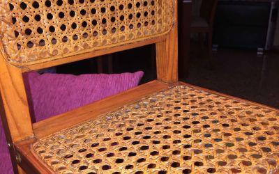 Reparar silla de rejilla