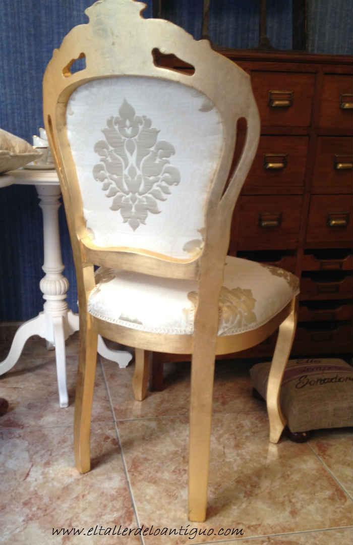 11-doramos-una-silla-con-papel-de-oro