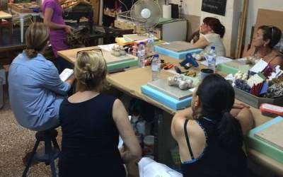 Momentos taller de Tapicería
