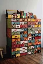 Pintar muebles de colores