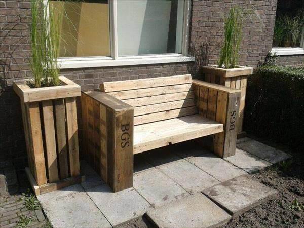 Construir muebles con palets el taller de lo antiguo for Muebles de exterior con palets