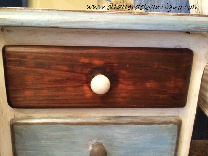 Pintar muebles de pino miel - **El Taller de lo Antiguo