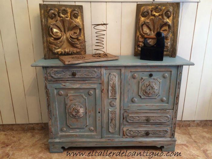 muebles shabby chic Archives - **El Taller de lo Antiguo