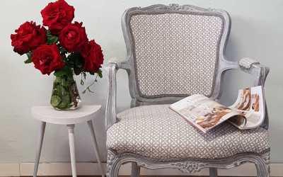 Cambios que no fallan tapizado pintura y pátina blanca