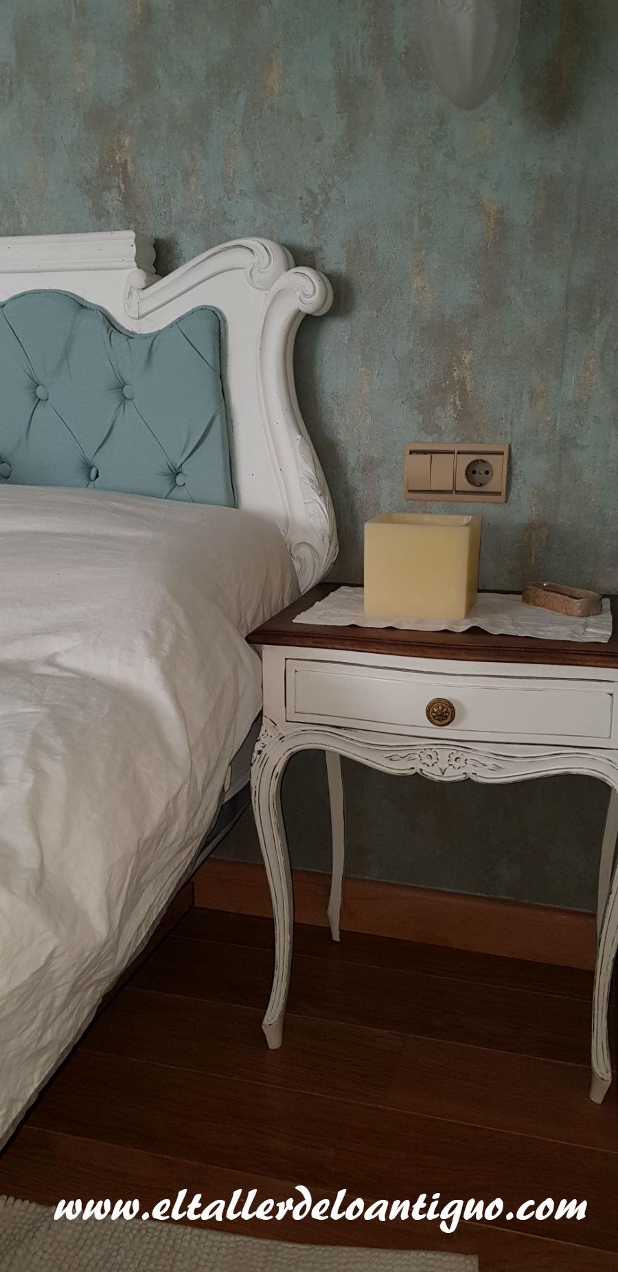 Como Hacer Un Cabezal Con Capiton El Taller De Lo Antiguo # Muebles Union Castellana