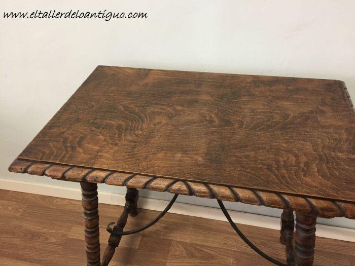Como limpiar e hidratar una madera antigua el taller - Como limpiar muebles de madera antiguos ...