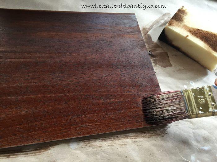 Como hacer tinte nogal para muebles el taller de lo - Color nogal en madera ...