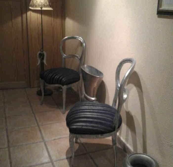 Como platear una silla