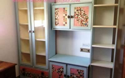 Patchwork en Muebles de Madera