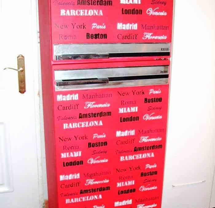 Como pintar un frigorífico antiguo Proceso para el repintado de un frigorífico antiguo