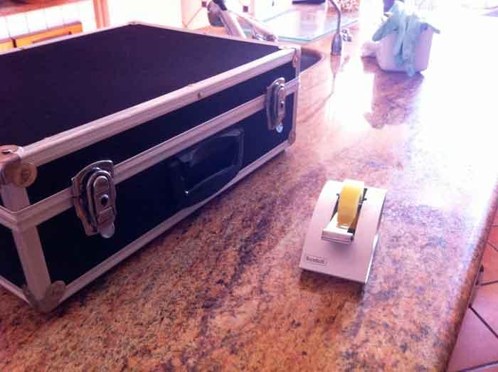 maletín de manualidades
