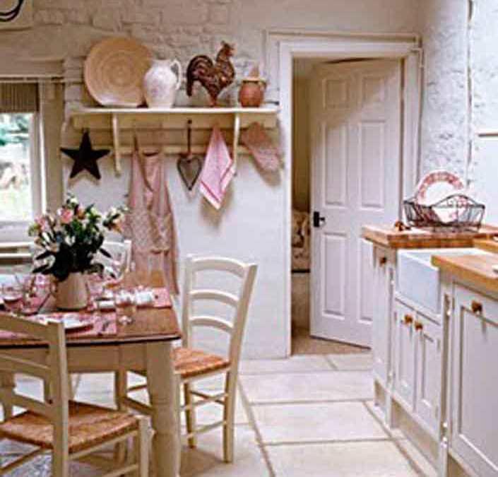 Shabby chic cocinas con encanto el taller de lo antiguo - Cocinas estilo shabby chic ...