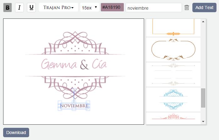 Como hacer un monograma personalizado