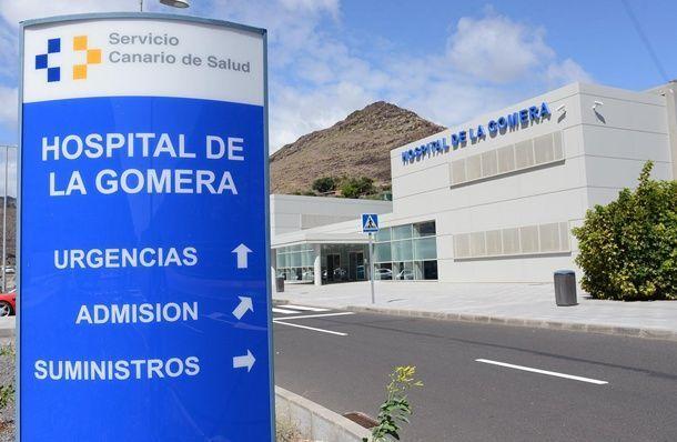 Hospital de La Gomera. Fachada principa, DA