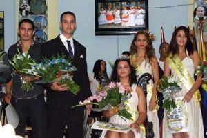Los hermanos De Armas fueron elegidos 'Princesa Dácil' y 'Rey Guanarteme'.