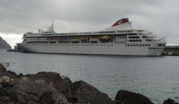 Fred. Olsen Cruise Line ha programado ocho escalas en Valle Gran Rey