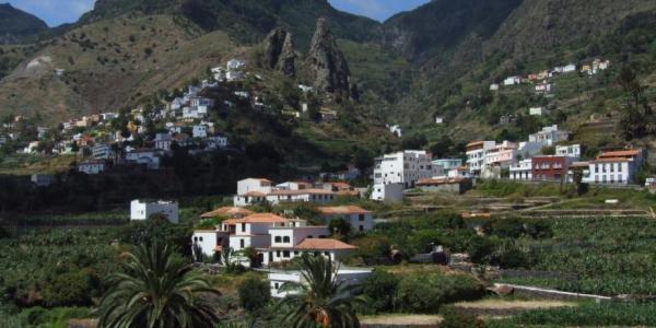 Hermigua, vista parcial de Valle Alto