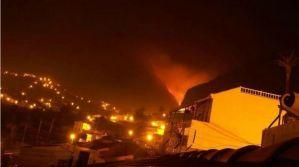 Incendio de La Gomera 2012
