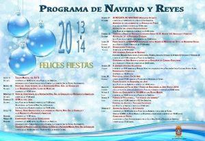 Programa de Navidad 2013 de San Sebastian de La Gomera