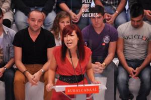 Patricia Hernández, diputada del PSOE por la provincia tinerfeña..