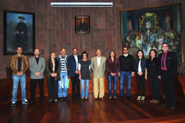 Acreditaciones turisticas en el Cabildo de La Gomera