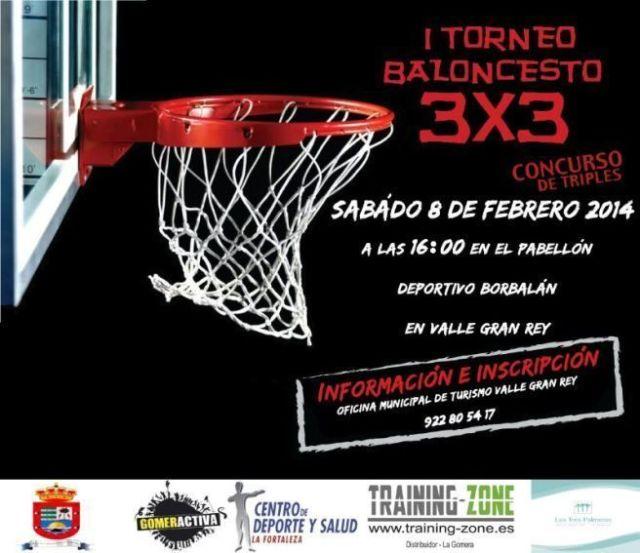 Torneo 3x3 baloncesto