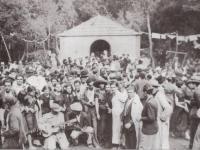 La ermita de Lourdes, en El Cedro y su fiesta desde 1935