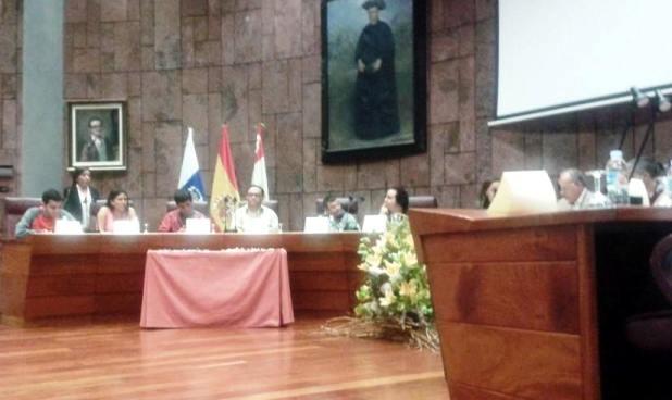 Pleno en el Cabildo por el dia de la discapacidad