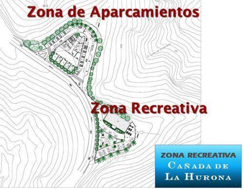zona recreativa cañada de HURONA