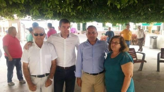 Fernando Clavijo visto Playa de Santiago