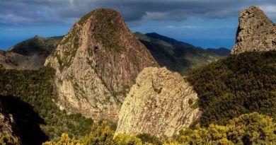 Lugares de La Gomera: El Monumento Natural de Los Roque