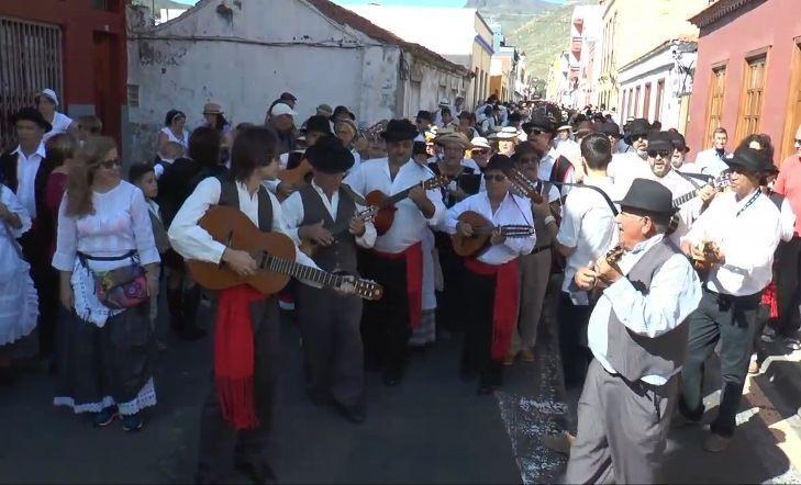 Ayer se celebro la Romería de San Sebastián de La Gomera 2017