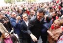 El acto de Pedro Sánchez de hoy en Barcelona espera cerca de 4.000 militantes y simpatizantes del PSC-PSOE