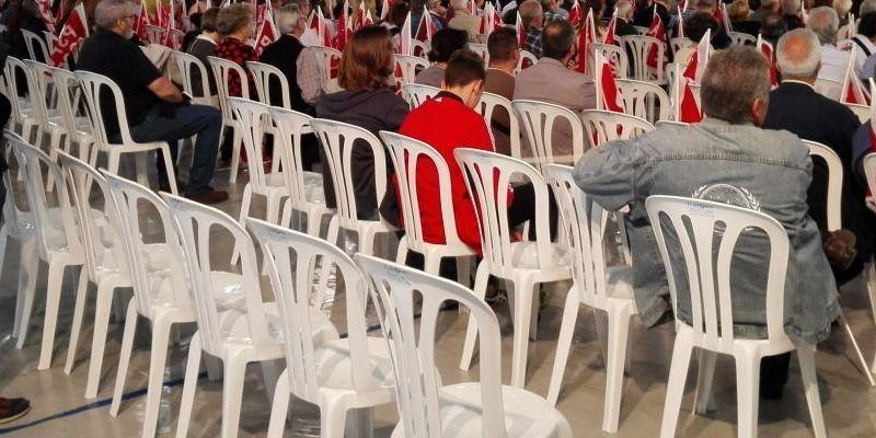 """Susana Diaz """"no llega a media entrada en Elche"""": La respuesta de la militancia a la visita ha sido menor a lo esperado"""