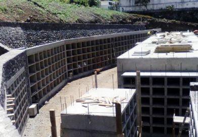 Continúan a buen ritmo las obras de ampliación del Cementerio San Gregorio de Hermigua
