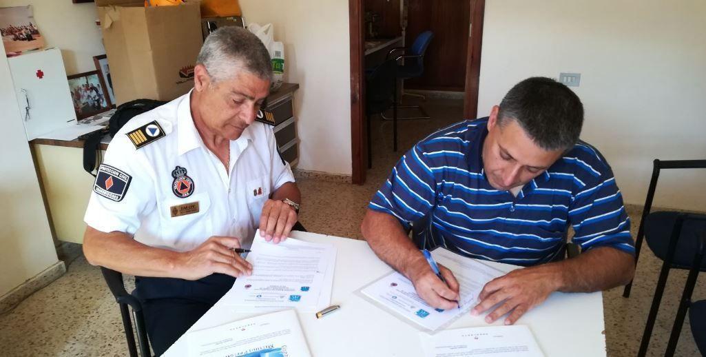 SOS Desaparecidos y Protección Civil de La Gomera firman