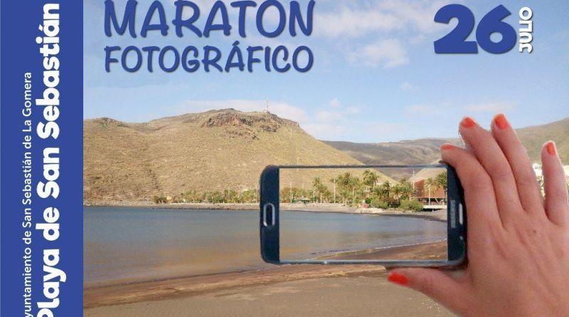 """El Ayuntamiento organiza un """"maratón fotográfico"""" en la playa de San Sebastián de la Gomera este miércoles"""