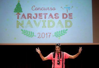 Un alumno del  Colegio Alojera premiado por CajaCanarias en sus Tarjetas de Navidad