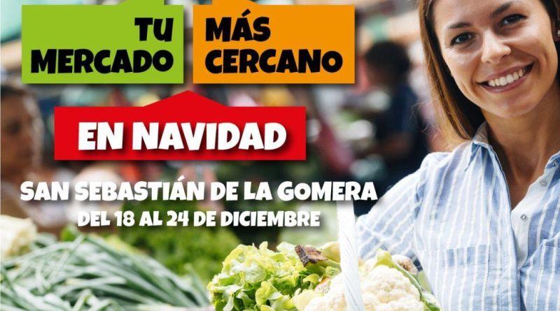 El Mercado Municipal de San Sebastián de La Gomera se promociona en Navidad