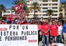 La Gomera se manifiesto a favor de nuestros pensionistas y contra el gobierno