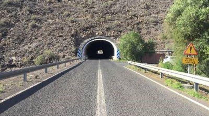 Se inicia el proceso de licitación del proyecto de iluminación del túnel de Playa Santiago en La Gomera