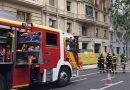 Dos trabajadores de la construcción desaparecidos en el derrumbe de un edificio en reforma en el centro de Madrid