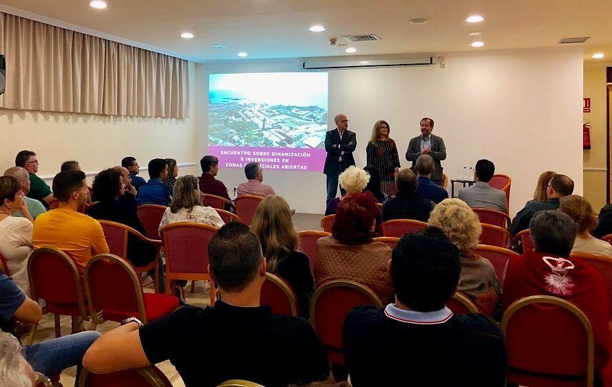 Resultado de imagen de El Cabildo gomero avanza en la creación de nuevas Zonas Comerciales Abiertas y un plan de inversiones para estas áreas