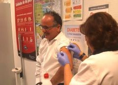 Salud Pública premia al Área de Salud de La Gomera por su labor en la campaña de la gripe 2017-2018