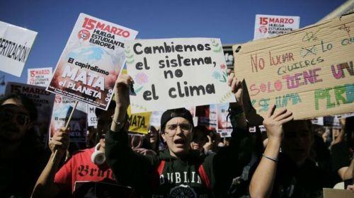 """Un voto para el planeta: los jóvenes del """"Fridays for Future"""" quieren que los políticos les escuchen"""