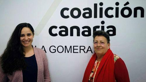 """Consuelo Rivero (CC): """"Nuestra actual senadora vive en Tenerife solo viene a La Gomera a los actos oficiales"""""""