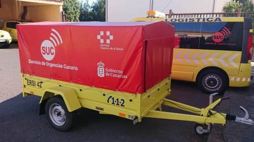 El SUC forma a los primeros intervinientes en emergencias de La Gomera para actuar ante una catástrofe