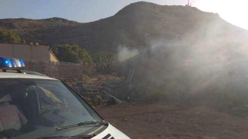 Conato de incendio en la zona de El Lamero de San Sebastian de La Gomera
