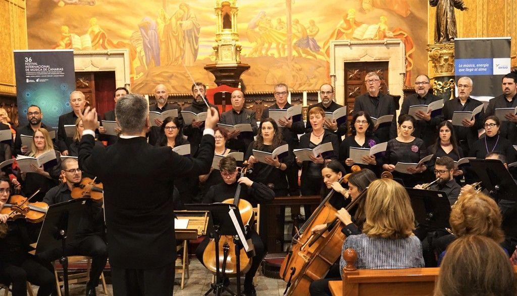 """Resultado de imagen de El Coro Ainur interpreta el Réquiem de Fauré en La Gomera"""""""