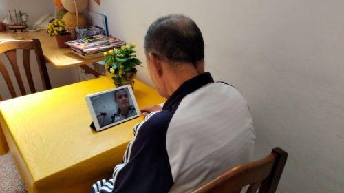 Habilitan videollamadas con los residentes del centro La Inmaculada